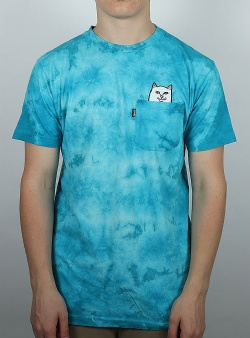 Rip n Dip Lord nermal tee Blue lightning wash