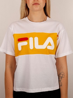 Fila Allison tee Bright white citrus