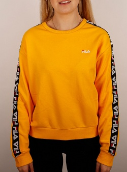 Fila Tivka crew sweat Citrus