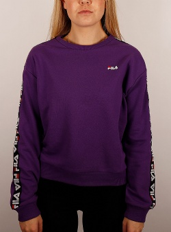Fila Tivka crew sweat Tillandsia purple