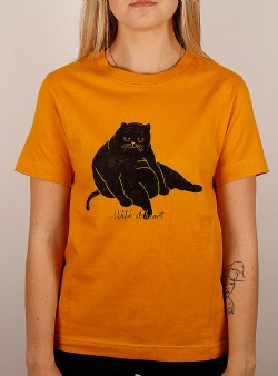Dedicated Wild at heart tee Mustard