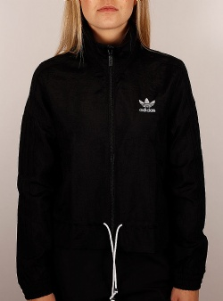 Adidas Ruffle track top Black