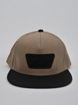 Vans Full patch snapback Dirt black