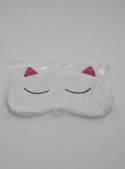 Rip n Dip Sleepy nerm eye mask White