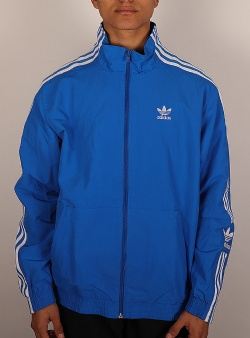 adidas superstar blue track top