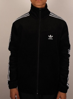 Adidas Cord beckenbauer track top Black