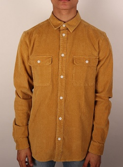 Revolution Long sleeve courdroy shirt Khaki
