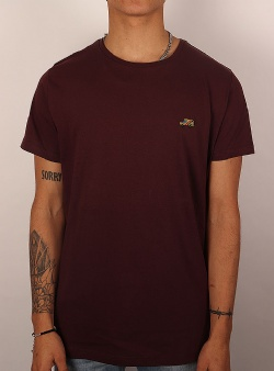 Revolution Car printed tee Bordeaux