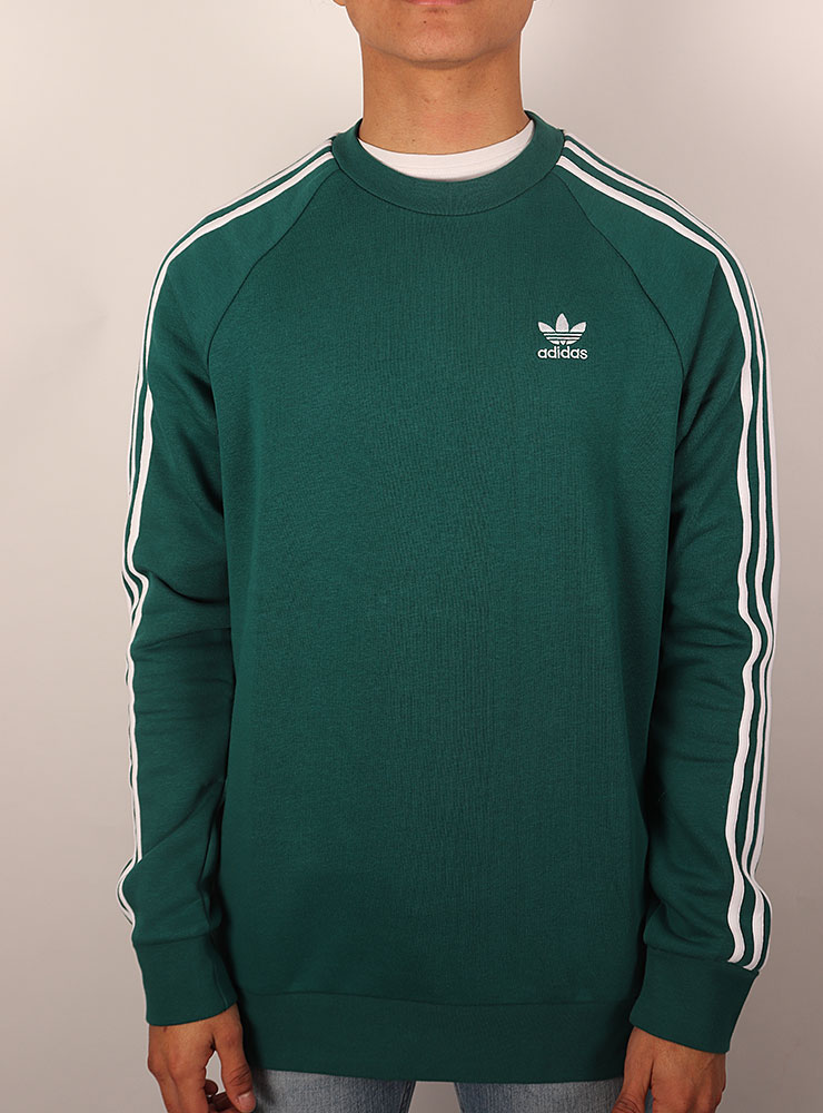 Adidas 3 stripes crew Tröjor Sweats på Sportif Unlimited