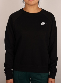 Nike Nsw essential crew flc Black