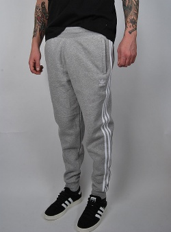 Adidas 3 stripes pants Mgreyh