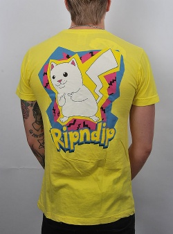 Rip n Dip Catch em all tee Yellow