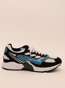 Nike Air ghost racer Black photo blue mineral teal