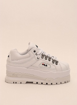 Fila Trailblazer wedge wmn White fila navy fila red