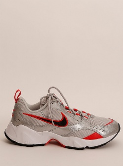Nike Air heights Grey fog black metallic silver
