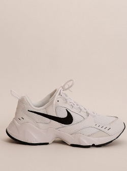 Nike Air heights White black platinum tint