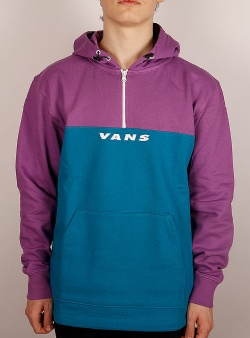 Vans Hi point qzip pullover hood Turkish tile dewberry