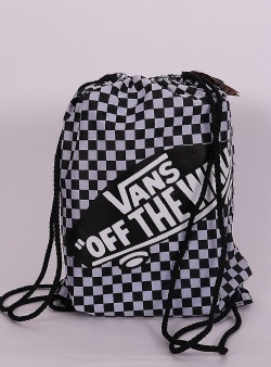 Vans Benched bag Black white