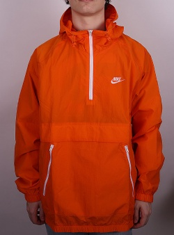 Nike Hooded anorak jacket Magma orange