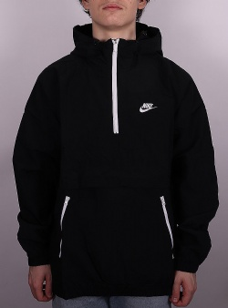 Nike Hooded anorak jacket Black
