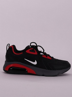 Nike Air max 200 Black white university red