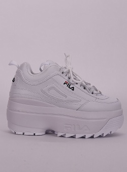 Fila Disruptor wedge White