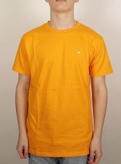 Wemoto Flag tee Yellow