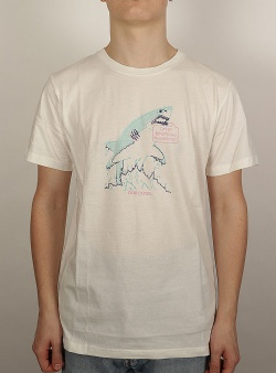 Dedicated Omg shark tee Off white
