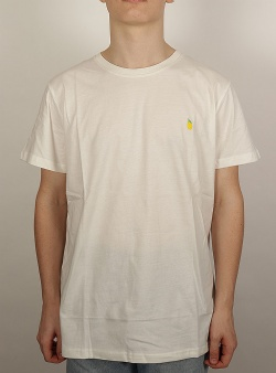 Dedicated Lemon tee Off white