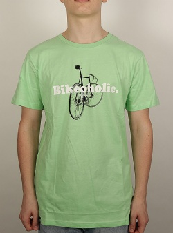 Dedicated Bikeoholic tee Mint