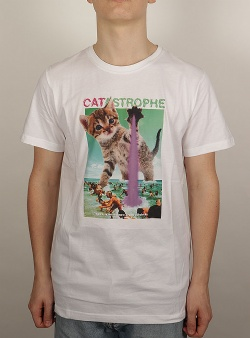 Dedicated Catastrophe tee White