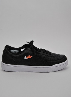 Nike Court vintage prm womens Black white total orange