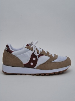 Saucony Jazz vintage Tan white