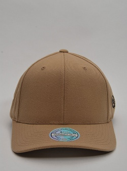 Mitchell and Ness Blank 110 laurel logo snapback Sand