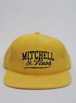 Mitchell and Ness Summer cord snapback Yellow