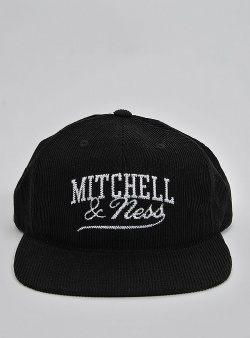 Mitchell and Ness Summer cord snapback Black