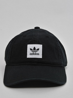 Adidas Washed dad cap Black