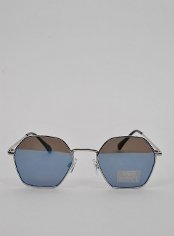 Vans Right angle sunglasses Silver blue mirror