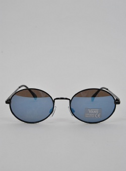 Vans As if sunglasses Matte black blue lens