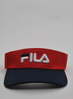 Fila Yui visor Red black iris