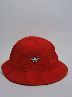 Adidas Samstag bucket hat Red white