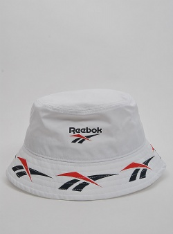 Reebok Cl vector bucket hat White