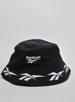 Reebok Cl vector bucket hat Black