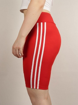 Adidas Short tights Lusred white