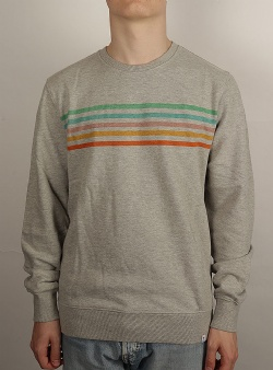 Revolution Rainbow crew Grey melange