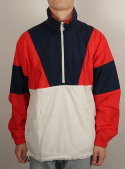 Adidas Track top Red cwhite nindig