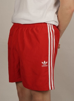 Adidas 3 stripes swim shorts Lusred