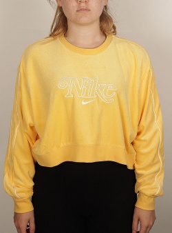 Nike Crop sweat Topaz gold