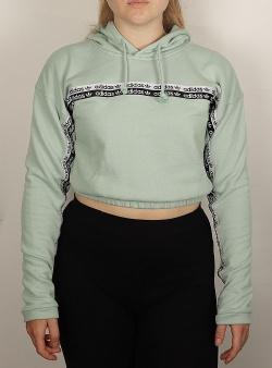 Adidas Ryv cropped hoodie Green tint