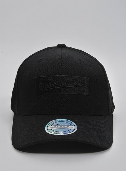 Mitchell and Ness Boxlogo 110 flexfit snapback Black black